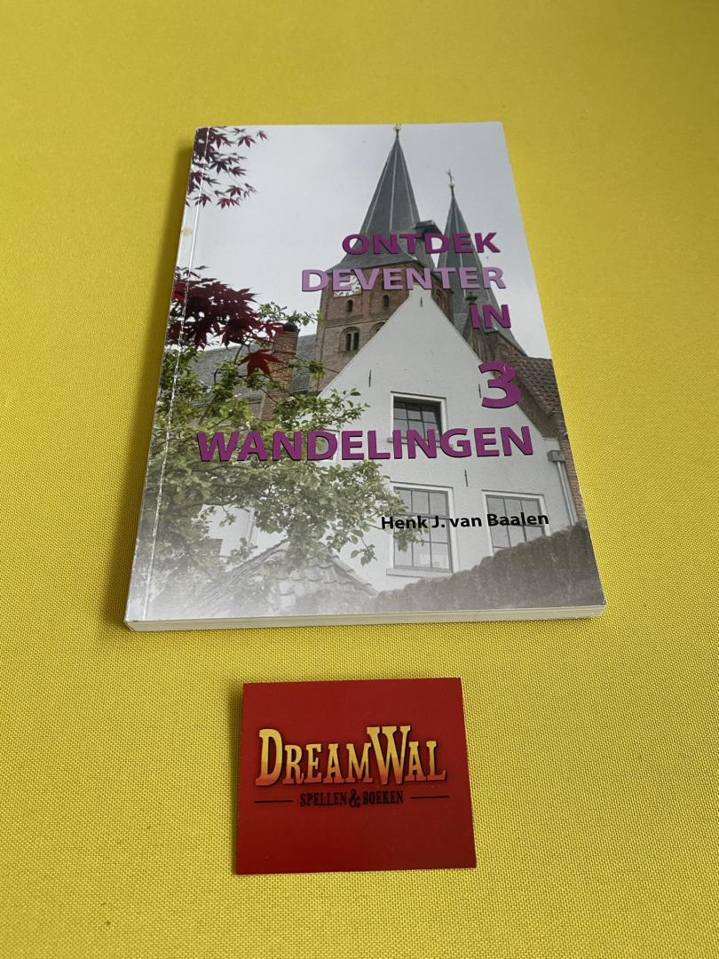 Ontdek Deventer in 3 wandelingen