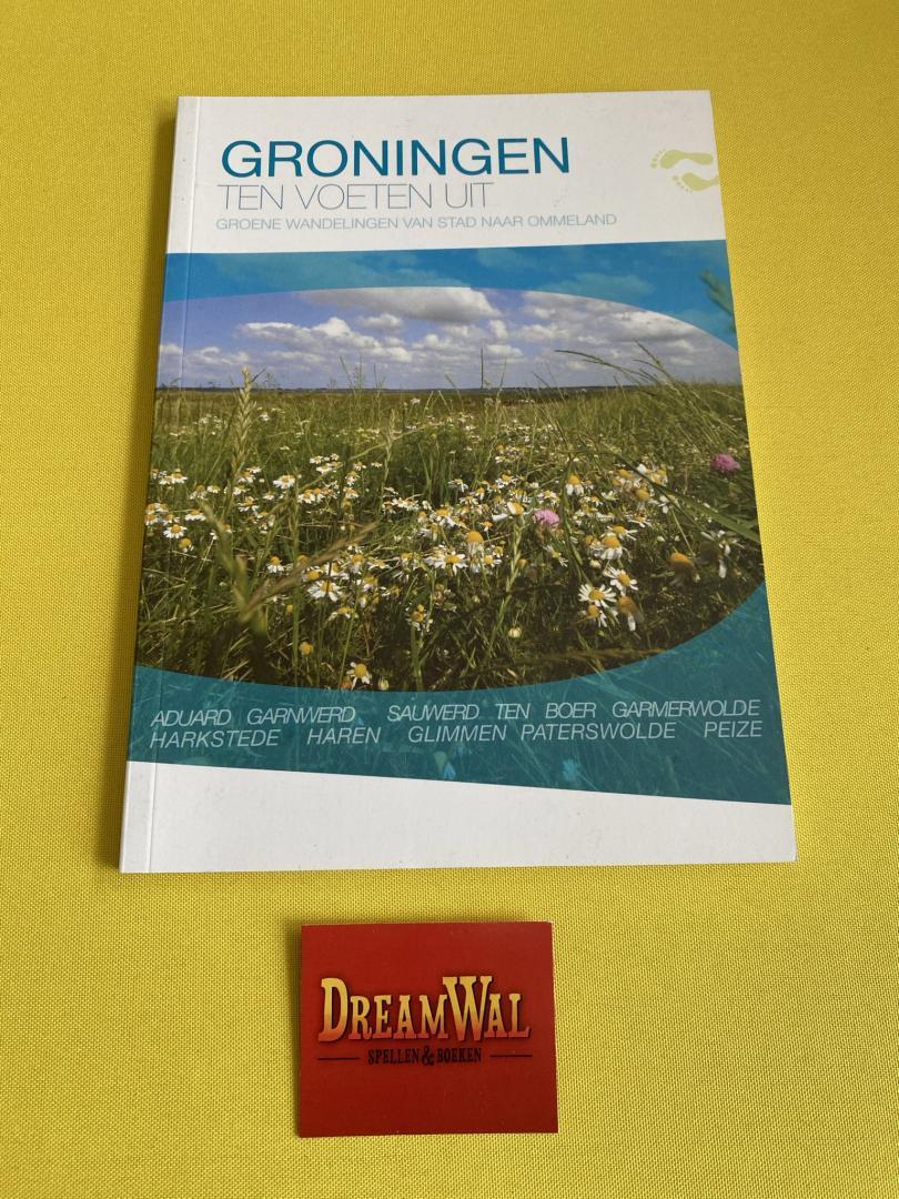 Groningen Ten voeten uit  groene wandelingen van stad naar Ommeland