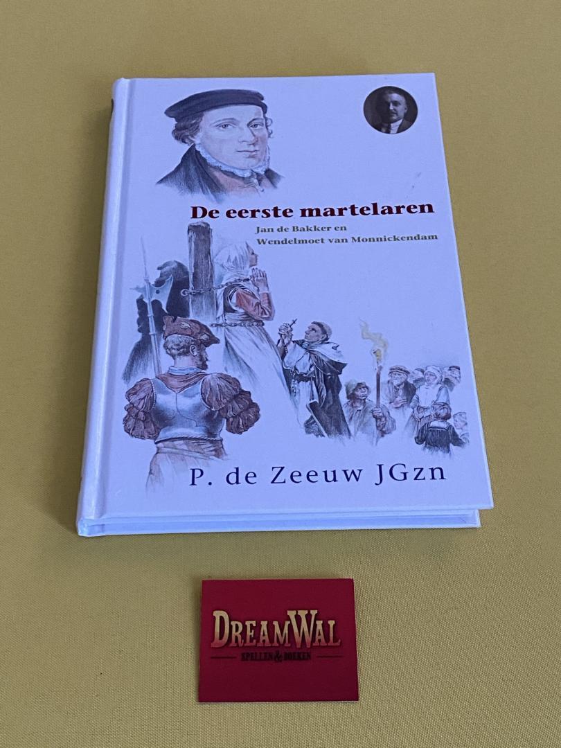 De eerste martelaren / Jan de Bakker en Wendelmoet van Monnikendam